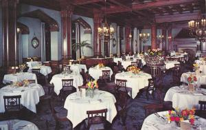 Dining Room at the Empress Hotel, Victoria, British Columbia, Canada, 40-60's