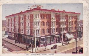 Albany Hotel Denver Colorado 1906