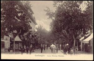 italy, VENTIMIGLIA, Corso Principe Amedeo (1905)