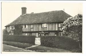 Ellen Terry's Cottage, Smallhythe Nr Tenterden RP PPC, 1956 Berkhamstead PMK