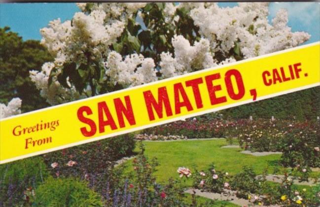 Greetings From San Mateo California
