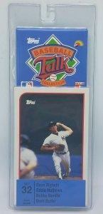 1989 Topps Baseball Talk Soundcard Collection #32 Bobby Bonilla Brett Butler NOS
