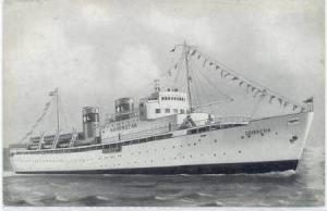 SS Silverstar Steamship,Oceanbound,1950 s