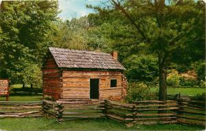 Abraham Lincoln's Boyhood Home Knob Creek Hodgenville Kentucky KY Postcard