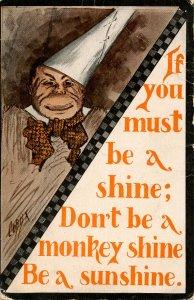 If you must be a shine…    Artist: Cobb Shinn