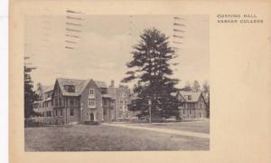 Exterior, Cushing Hall, Vassar College, New York,   PU-1938