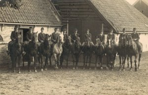 Horsesports Real Photo Group Of Riders 1928 04.00