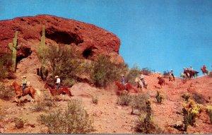 Arizona Phoenix Papago Park Horseback Riders