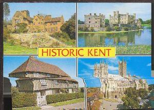 Multiview Kent England UK Postcard BIN
