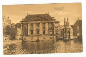 Canal & Building / Mauritshuis,The Hague,Netherlands 1900-10s