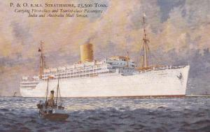 P.&O. Line Ocean Liner S.S. Strathmore , 1910s-20s