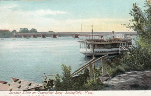 SPRINGFIELD , Massachusetts, 1901-07 ; Steamer SILVIA on CT River
