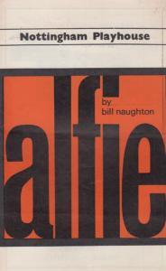 Alfie John Neville Maggie Jordan Nottingham Playhouse Theatre Programme