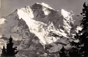 Switzerland Die Jungfrau Berg Mountain Landscape