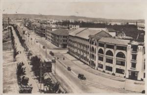 Marine Parade Durban South African Real Photo Old Postcard