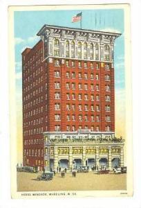 Hotel Windsor, Wheeling, W. Virginia, PU-1931