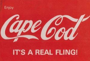 Cape Cod Massachusetts Coca Cola Enjoy American Advertising Postcard