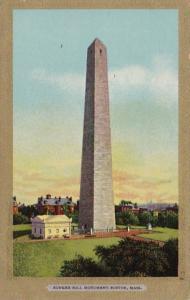 Massachusetts Boston Bunker Hill Monument