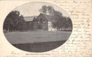 Grinnell Iowa College Rand Gymnasium Antique Postcard K85359