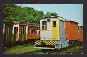 NJ Train Switcher Mac Andrews Trolley Valhalla Jobstown New Jersey Postcard
