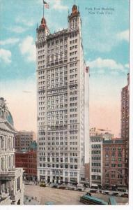 New York City The Park Row Building Curteich