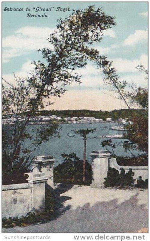 Bermuda Paget Entrance To Girvan
