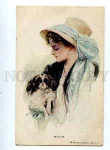 127022 BELLE w/ JAPAN CHIN by FISHER Vintage R&N 196 PC