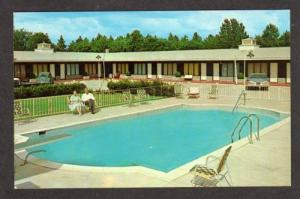 NORTH CAROLINA FAYETTEVILLE NC Driftwood Motel Postcard