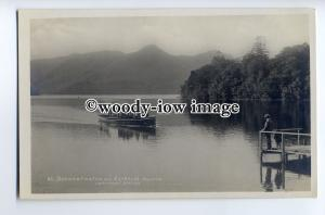 tp9044 - Cumbria - Derwentwater and Catbells, Pleasure Boat arriving - postcard