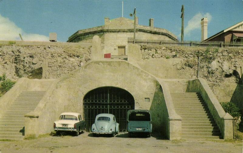 australia, FREMANTLE, W.A., The Roundhouse, Cars VW V.W. Beetle (1960s)