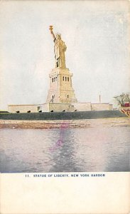 Statue of Liberty Post Card New York City, USA 1909