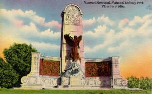 MS - Vicksburg. Vicksburg National Military Park, Missouri Memorial