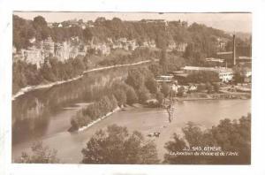 RP: Geneve , Switzerland , 1910s ; La Jonction du Rhone et de l'Arve