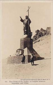RP, The Christ Of The Andes, On Heights Between Argentine & Chile, 1920-1940s