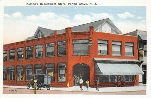 LPN08 Penns Grove New Jersey Postcard Poland's Department Store