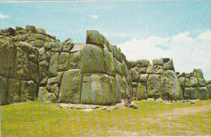 Peru Cuzco Sacsayhuaman Greatest Inca Fortress
