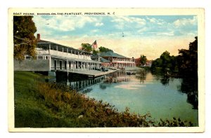RI - Providence. Rhodes on the Pawtuxet, Boat House
