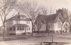 RP: AKRON , Iowa , 1920-30s ; English Lutheran Church & Parsonage
