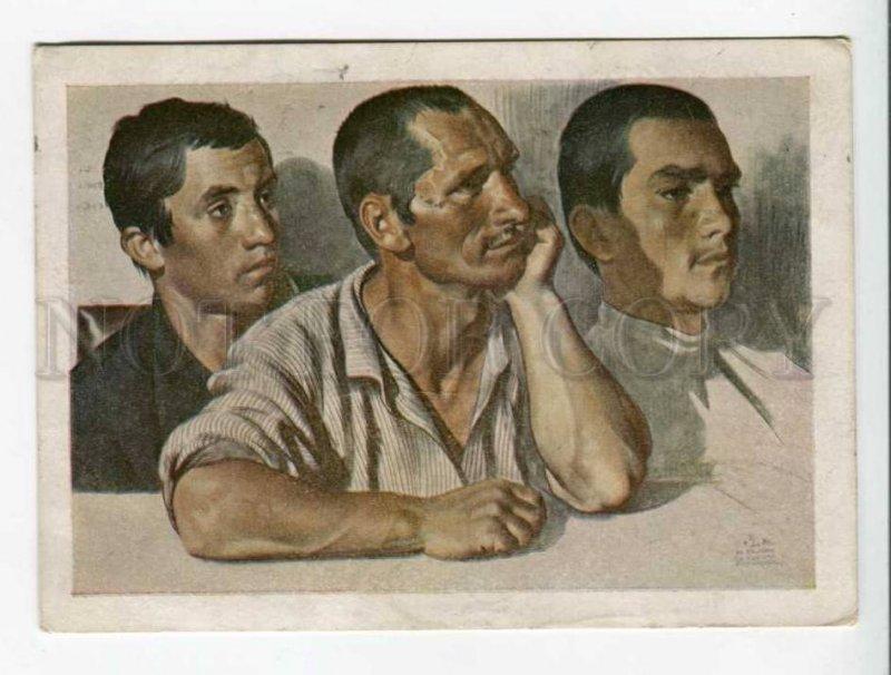 289739 USSR Katzman members a rural communist cell 1929 Postal Stationery postal