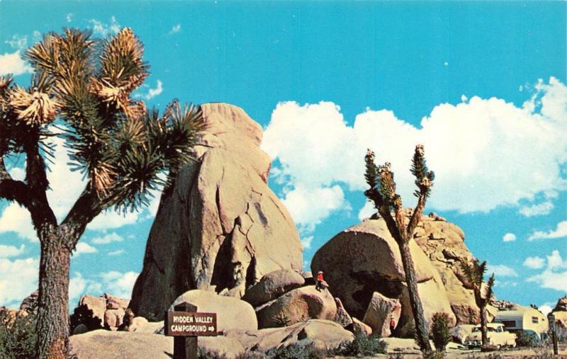TWENTY NINE PALMS, CA California JOSHUA TREE~Hidden Valley Camping