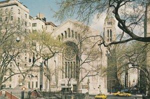 New York City , 1950-70s Jewish Temple Emanu-El