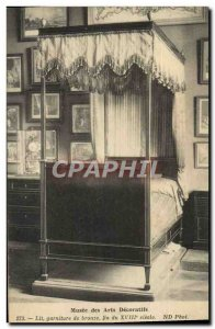 Postcard Old Museum Arts Decoratifs oF bed Trim Bronze End Of 18th