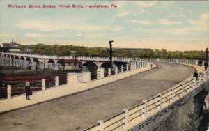Pennsylvania Harrisburg Mulberry Street Bridge West End 1912