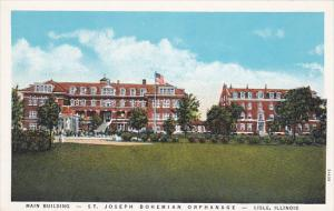 Main Building, St. Joseph Bohemian Orphanage, LISLE, Illinois, 1910-1920s