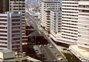 Morocco Casablanca Avenue de l'Armee Royale 1992