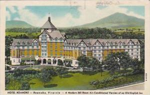 Virginia Roanoke Hotel Roanoke 1912