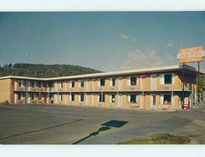 Unused Pre-1980 JOYNER'S MOTEL Covington Virginia VA s5291-12