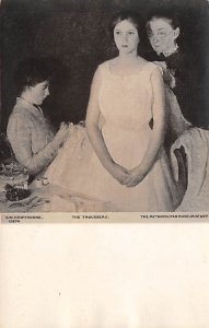 Art Post Card,Old Vintage Artist Postcard The Trousseau CW Hawthorne Unused