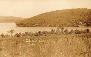 Lake Charlotte NY Lakeside Hills Real Photo Postcard