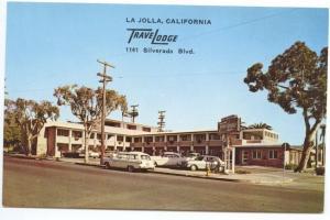 La Jolla CA TraveLodge Silverado Boulevard Postcard